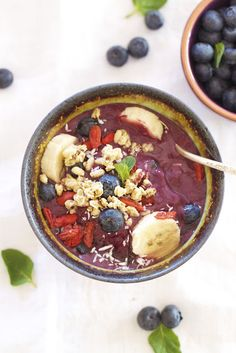 Epicurean Mom: Acai Bowl {Power Breakfast}