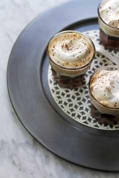 Bicerin Coffee (aka Layered Mocha) | http://saltandwind.com