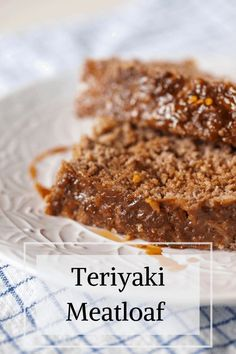 An easy main dish with plenty of umami, sweetness, and spice, this Teriyaki Meatloaf will be well received at weeknight night family meals and dinner parties alike. #healthydinnerrecipes #easydinner #meatloaf #fallrecipes #grassfedbeef #groundbeef