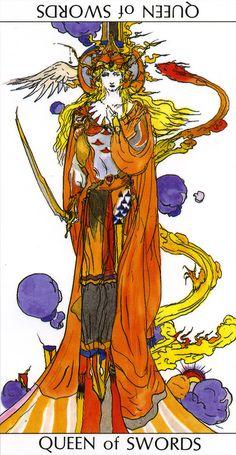 Yoshitaka Amano - Queen of swords