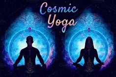 Cosmic Yoga and Meditation by Art of Spirit on @creativemarket