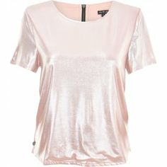 Rock & Religion Shimmer Pink Metallic T-Shirt