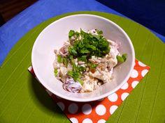yellowgreentomatoes: Těstovinový salát (: