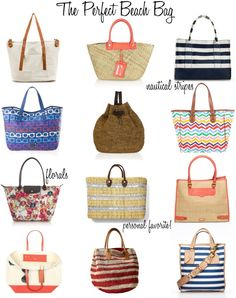 Aside From Hitting The Beach With Your Perfect Swimwear Sungles Sun Protection And Hats You Need To Get A Nice Bag Contain All Things