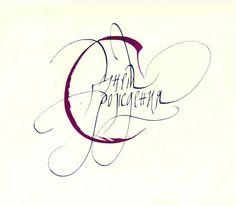 Статья: Выдающиеся российские шрифтовики икаллиграфы Каллиграфия Веры Евстафьевой