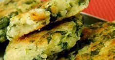 Ingredientes   2 xícaras de mandioca  cozida e amassada  1 maço de espinafre  (só as folhas)  1 colher (sopa) de azeite de oliva