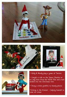 SugarPea Designs: Elf on the Shelf