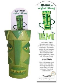 Limited Edition SHAG LEMI TIKI Mug in Collectibles | eBay