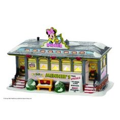Department 56 Disney Christmas Village Collection-Minnie's Diner  $69.95