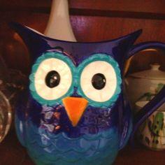 owl pitcher from Von maur
