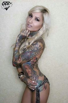 Our beautiful Inked Up Tour Host, Bernadette. @Becky Allen Sullens Clothing