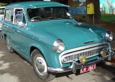 Hillman Car Club of South Australia – Neil Yeomans – 1959 Hillman Husky Series I