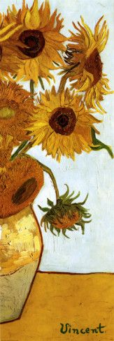 Sunflowers, c.1888 Prints by Vincent van Gogh at AllPosters.com