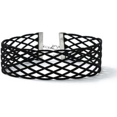 Miss Selfridge Black Fishnet Choker ($15) ❤ liked on Polyvore featuring jewelry, necklaces, black, choker jewellery, miss selfridge, choker jewelry and choker necklaces
