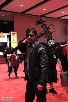 Daryl The Walking Dead cosplay #C2E2