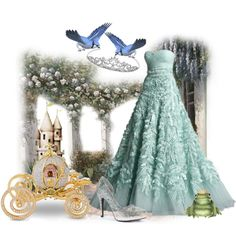 Princess For A Day- Cinderella Carriage by helenrosemay on Polyvore
