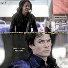 #TVD The Vampire Diaries Anna & Damon