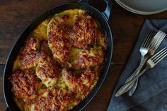 Richard Olney's Chicken Gratin on Food52