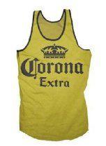 Corona Men's Extra Tank Top Logo Shirt