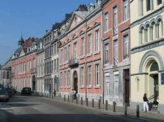Travel With MWT The Wolf: World Famous Streets Rue Horse Chateau Liegi Belgi...