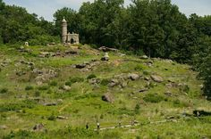 *LITTLE ROUND TOP~Big Round Top. It was the site of an unsuccessful assault by Confederate troops against the Union left flank on July 2,1863, the second day of the Battle of Gettysburg.