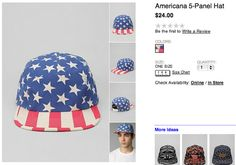Urban Outfitters Americans 5-Panel Hat, $24