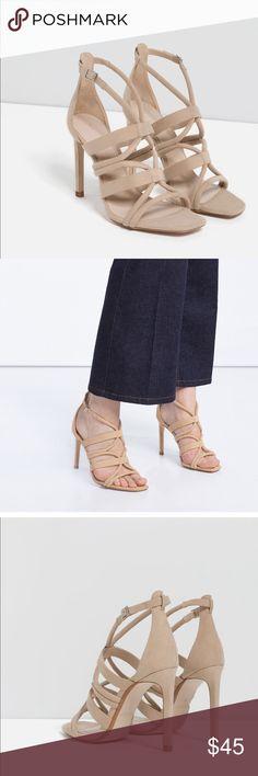 Zara heels Brand new with tag! No trade Zara Shoes