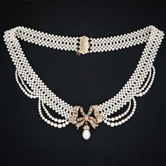 Victorian necklace by lindasue2