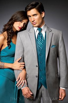 Lowest Price on Custom Made Light Grey Groom Suits Teal Vest Groom Tuxedos Notch Lapel Groomsmen Best Man Mens Wedding Suits (Jacket+Pants+Vest+ - Blue Kangaroo Tuxedo Wedding, Wedding Men, Wedding Suits, Wedding Attire, Wedding Ideas, Dream Wedding, Wedding Stuff, Wedding Tuxedos, Fall Wedding