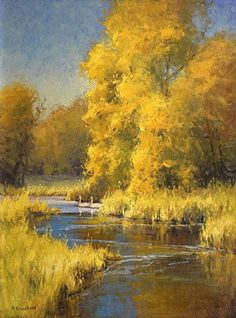Perfect Match by Kim Casebeer Oil ~ 24 x 18