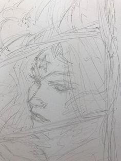 Greg Capullo pencils... Wonder Woman