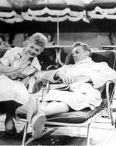 "Lucille Ball and Van Johnson ""I Love Lucy"""