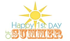 happy first day of summer u003c3 seasonal quotes pinterest rh pinterest nz first day of summer free clip art first day of summer clipart free