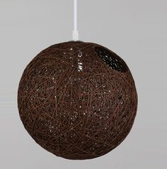 Shop for 8 Round Wicker Rattan Woven Ceiling Pendant Lampshade Light Shades Brown on Balloonsale. Ceiling Pendant, Pendant Lights, Rattan, Wicker, Lampshades, Light Shades, Christmas Bulbs, Colorful, Holiday Decor