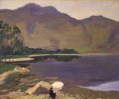 Loch Katrine by Sir John Lavery - print
