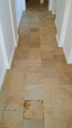 hallway after professional cleaning Daily Cleaning, Cast Stone, Professional Cleaning, Natural Stones, Tile Floor, Indoor, Interior