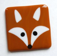 Hey, I found this really awesome Etsy listing at https://www.etsy.com/uk/listing/387090692/fox-coaster-mat-fused-glass-foxy-cute