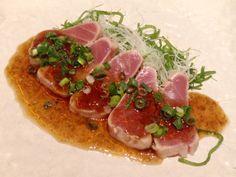 Gebratener Thunfisch vom Restaurant Ikibosun in Shin-Ōsaka