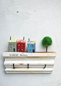 Awesome How To Make A Fun Wall Key Holder From Junk