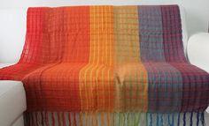 Manta  para sofá 100% Algodão (tear manual) Tam: 1,20 X 1,80mts Produto de qualidade e elegância! R$ 47,00