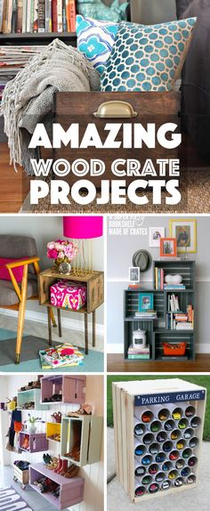 Amazing Wood Crate Projects