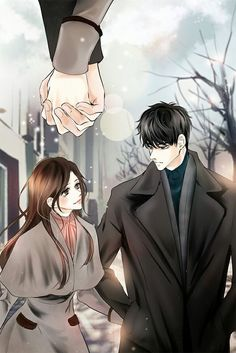 Please visit our website to support us! Anime Love Couple, Manga Couple, Anime Couples Manga, Cute Anime Couples, Couple Art, Anime Guys, Manga Art, Manga Anime, Couple Sketch