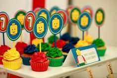 """Photo 1 of 34: Colourful and fun Lego / Birthday """"Lego 7th Birthday Party""""   Catch My Party"""