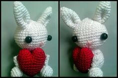 Stijn, the valentine-bunny.   By mevr. Snoeshaan