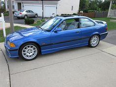 Estoril blue E36 BMW M3