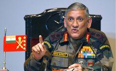 प्रदर्शनकारी पत्थर फेंकने के बजाय हथियार चलाएं, तब मैं खुश होता : सेना प्रमुख | Punjab Kesari