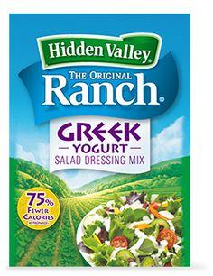 Hidden Valley® Greek Yogurt Salad Dressing Mix