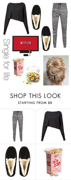 """""""Single for life"""" by ironman8995 ❤ liked on Polyvore featuring Zoe Karssen, Crea Concept, UGG Australia and Dot & Bo"""