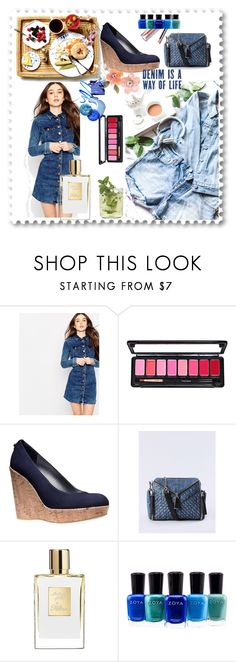 """""""Denim"""" by soofficial87 ❤ liked on Polyvore featuring Pepe Jeans London, Stuart Weitzman, Diesel and Zoya"""