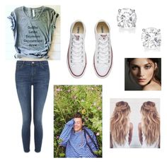 """""""Photo shoot w/ Harry❤️"""" by jorgiez on Polyvore featuring Topshop, Burberry and Converse"""